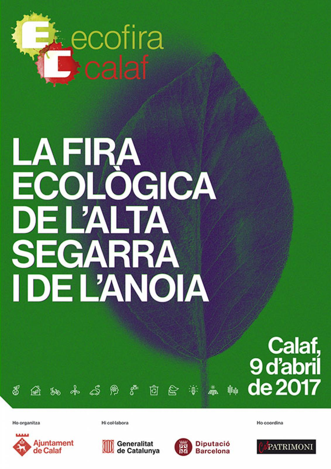 cartell EcoFira de Calaf