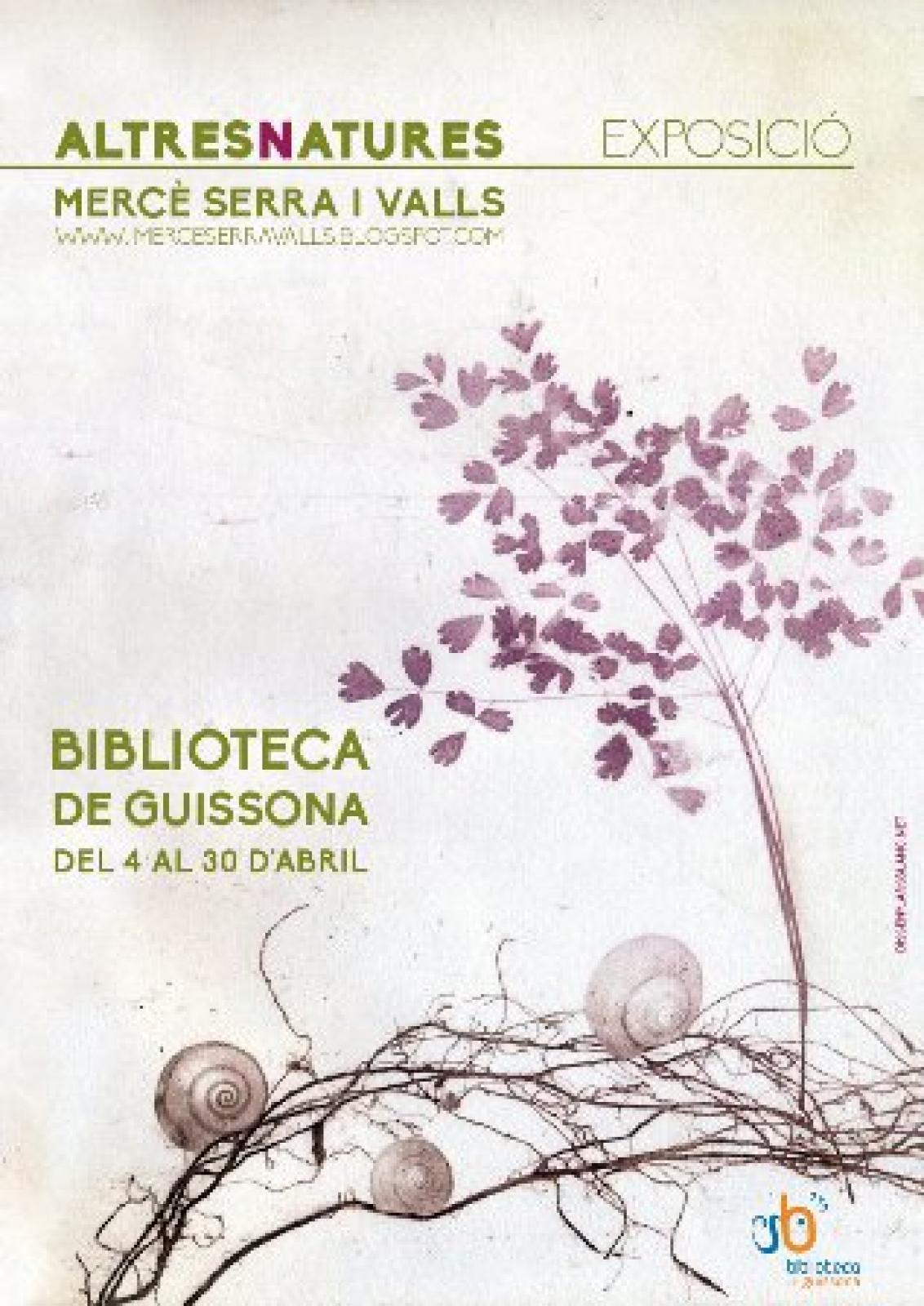 cartell Exposició 'Altres natures'