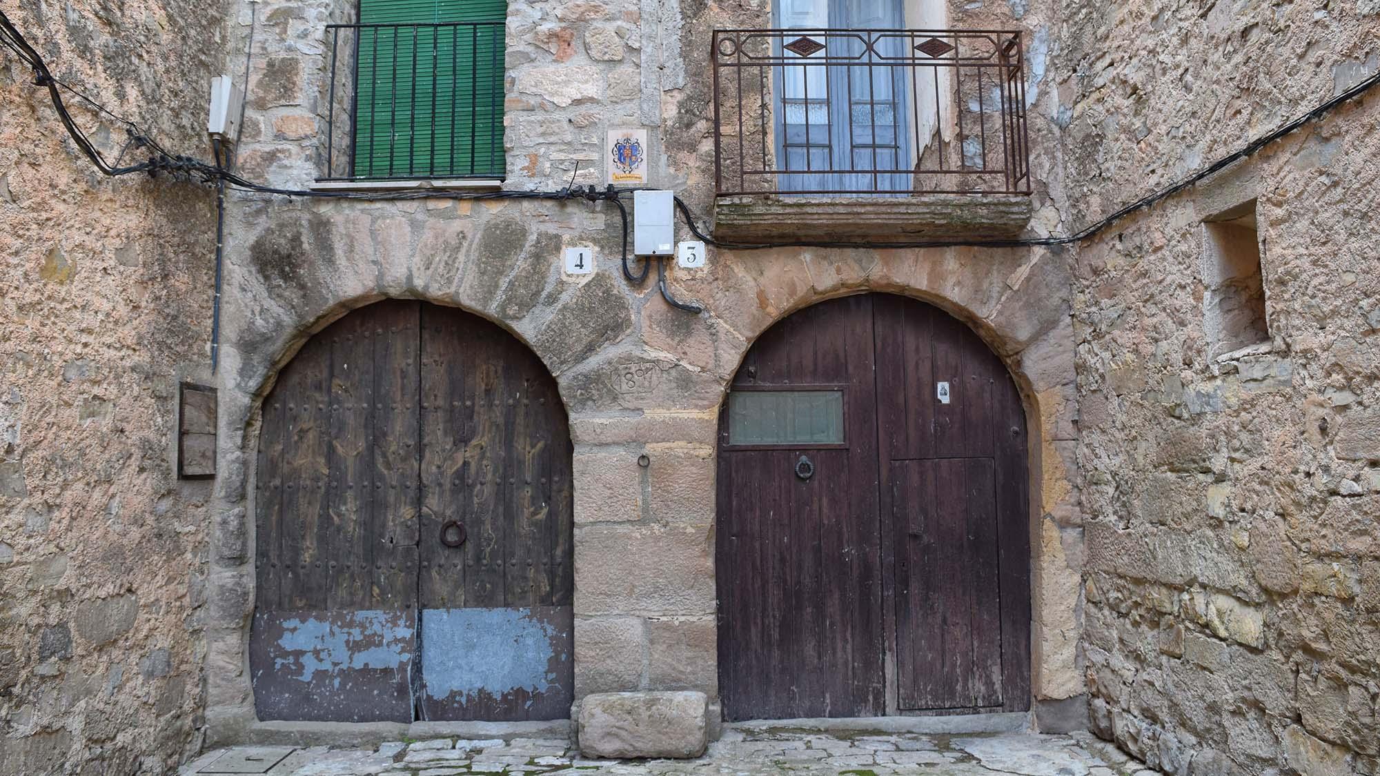 Vila vella La Pobla de Carivenys
