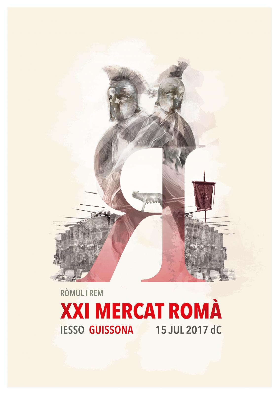 cartell XXI Mercat Romà de Iesso