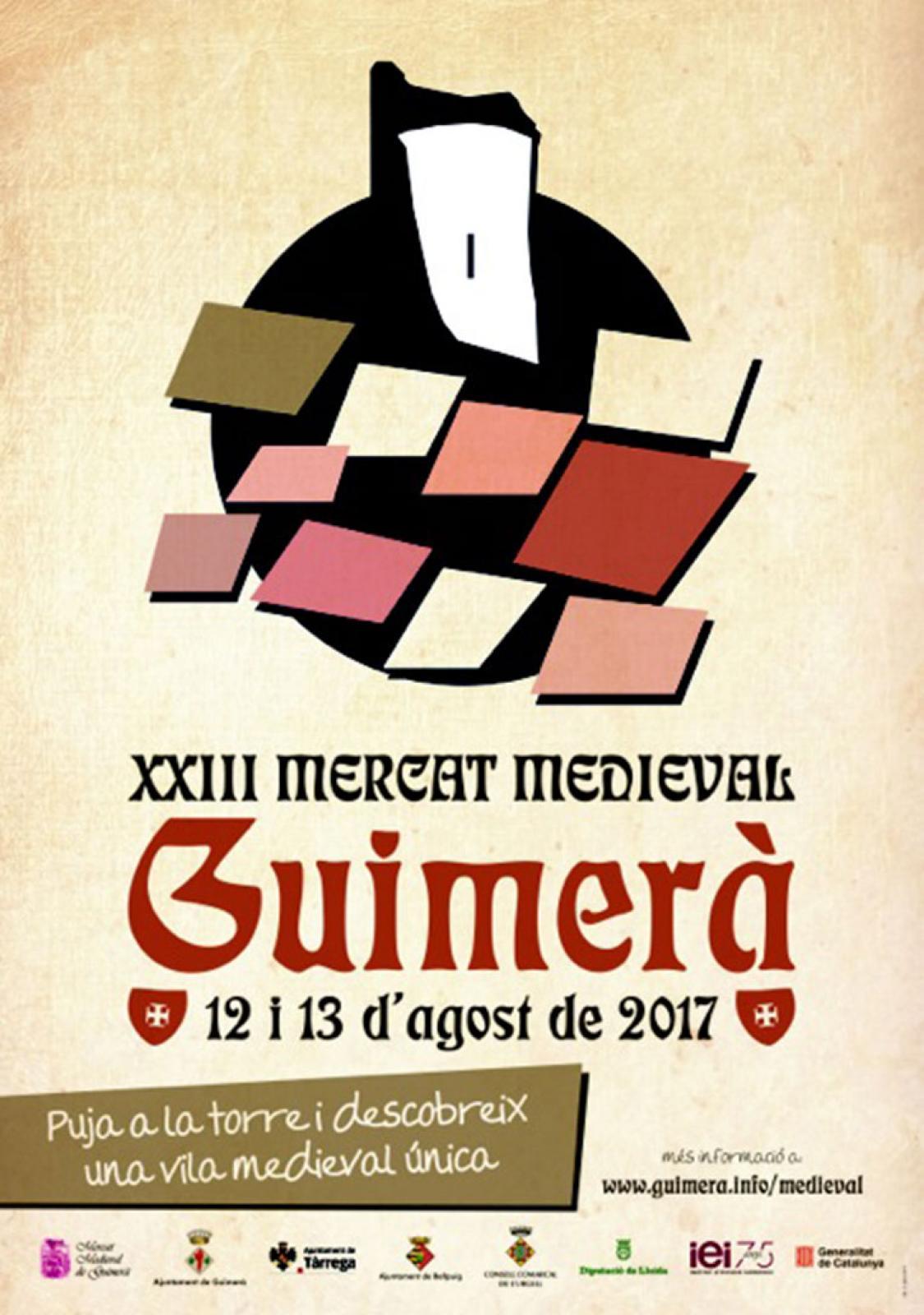 cartell XXIIIè Mercat Medieval de Guimerà
