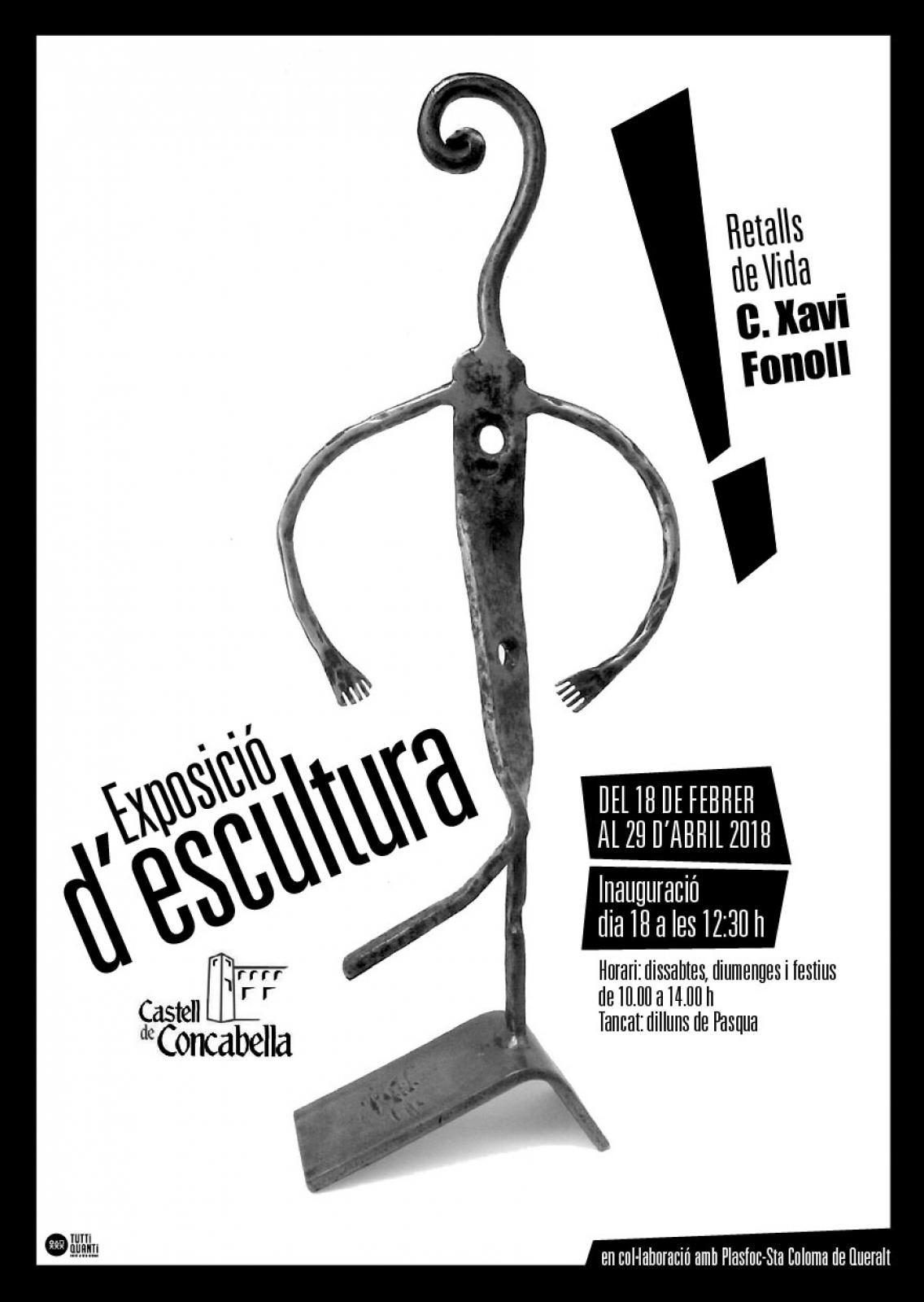 Exposició d'escultura 'Retalls de Vida'