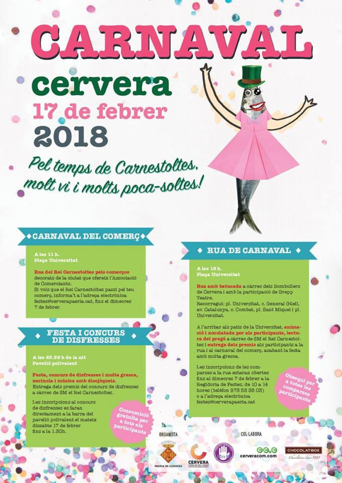 Carnaval Cervera 2018