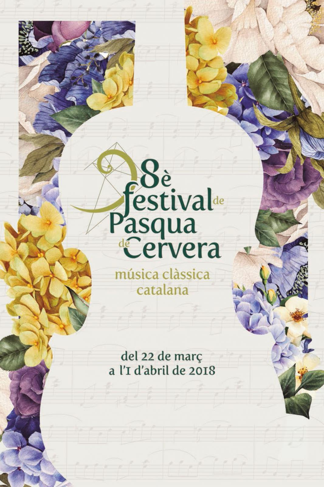 8è Festival de Pasqua de Cervera 2018
