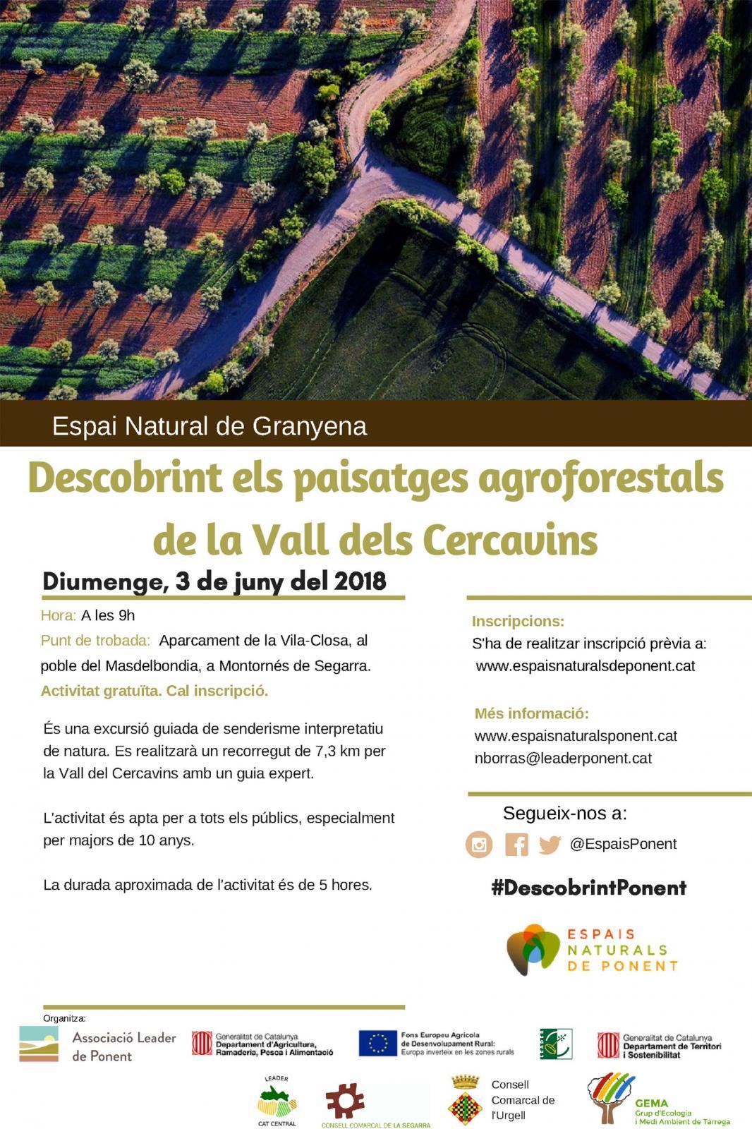 Descobrint els paisatges agroforestals de la Vall del Cercavins