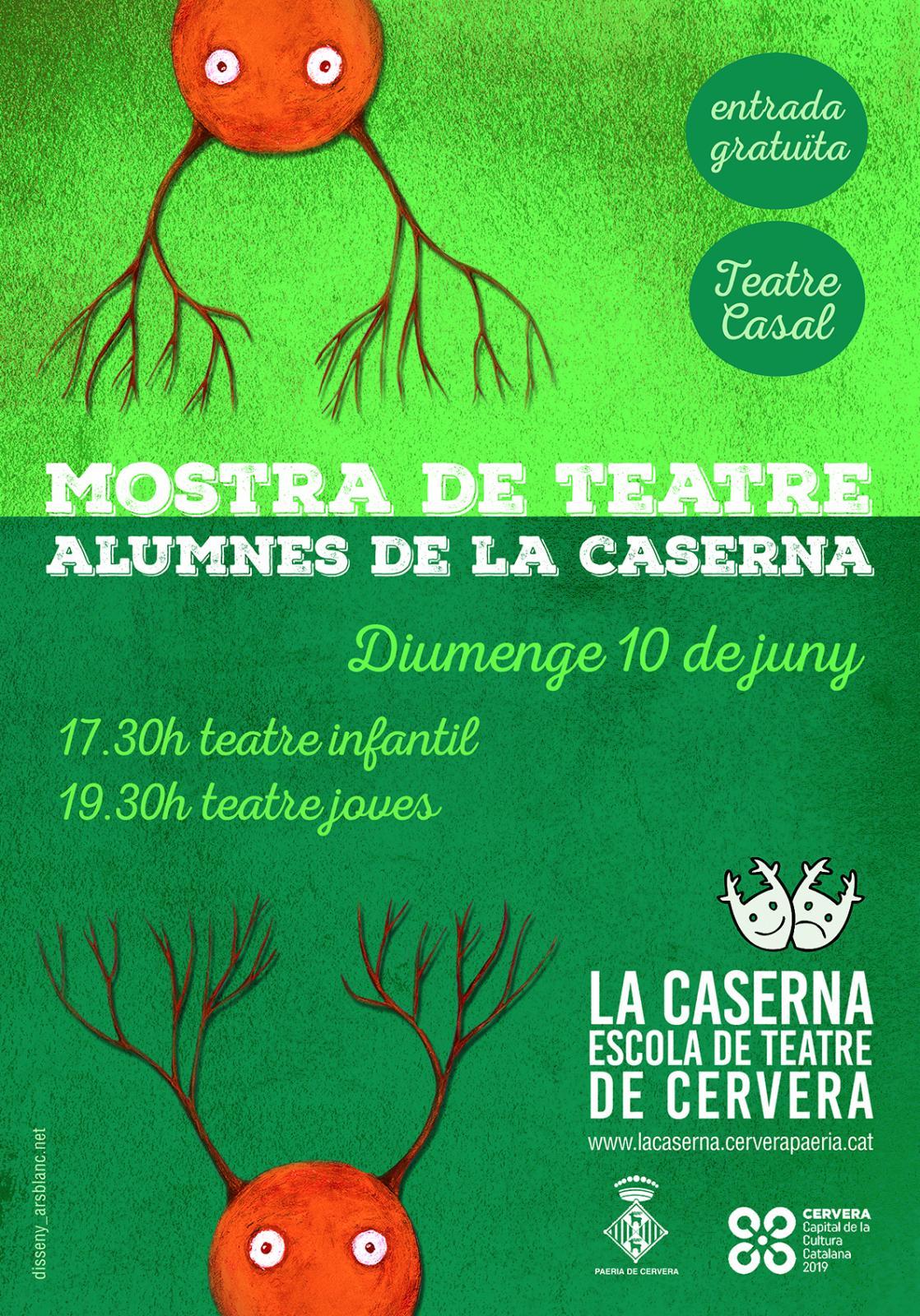 Mostra de Teatre dels alumnes de La Caserna