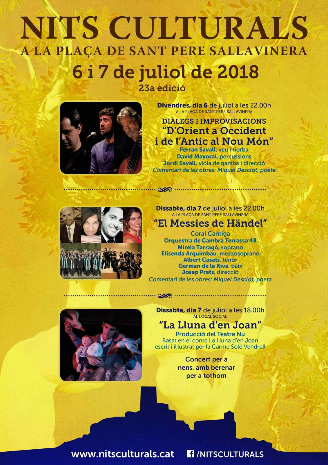 23a Nits Culturals de Sant Pere Sallavinera