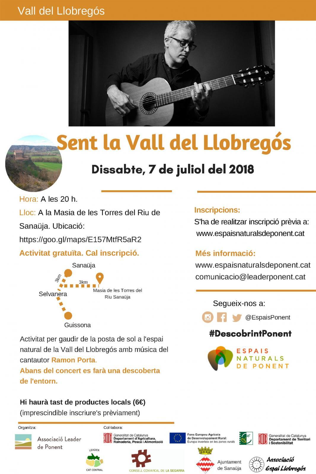 cartell Sent La Vall del Llobregós