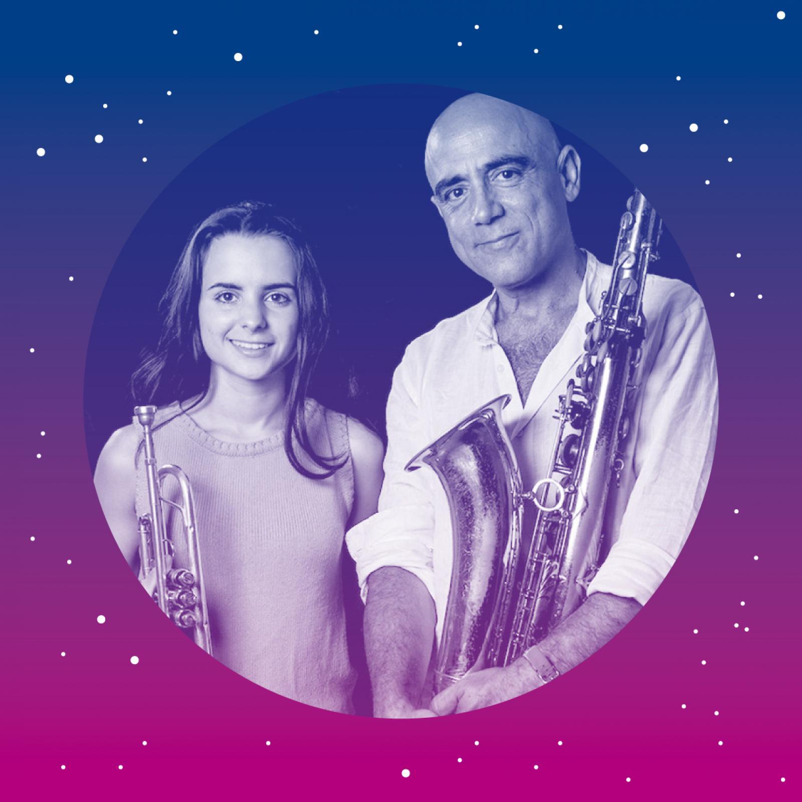 Concert amb Andrea Motis, Joan Chamorro i Josep Traver