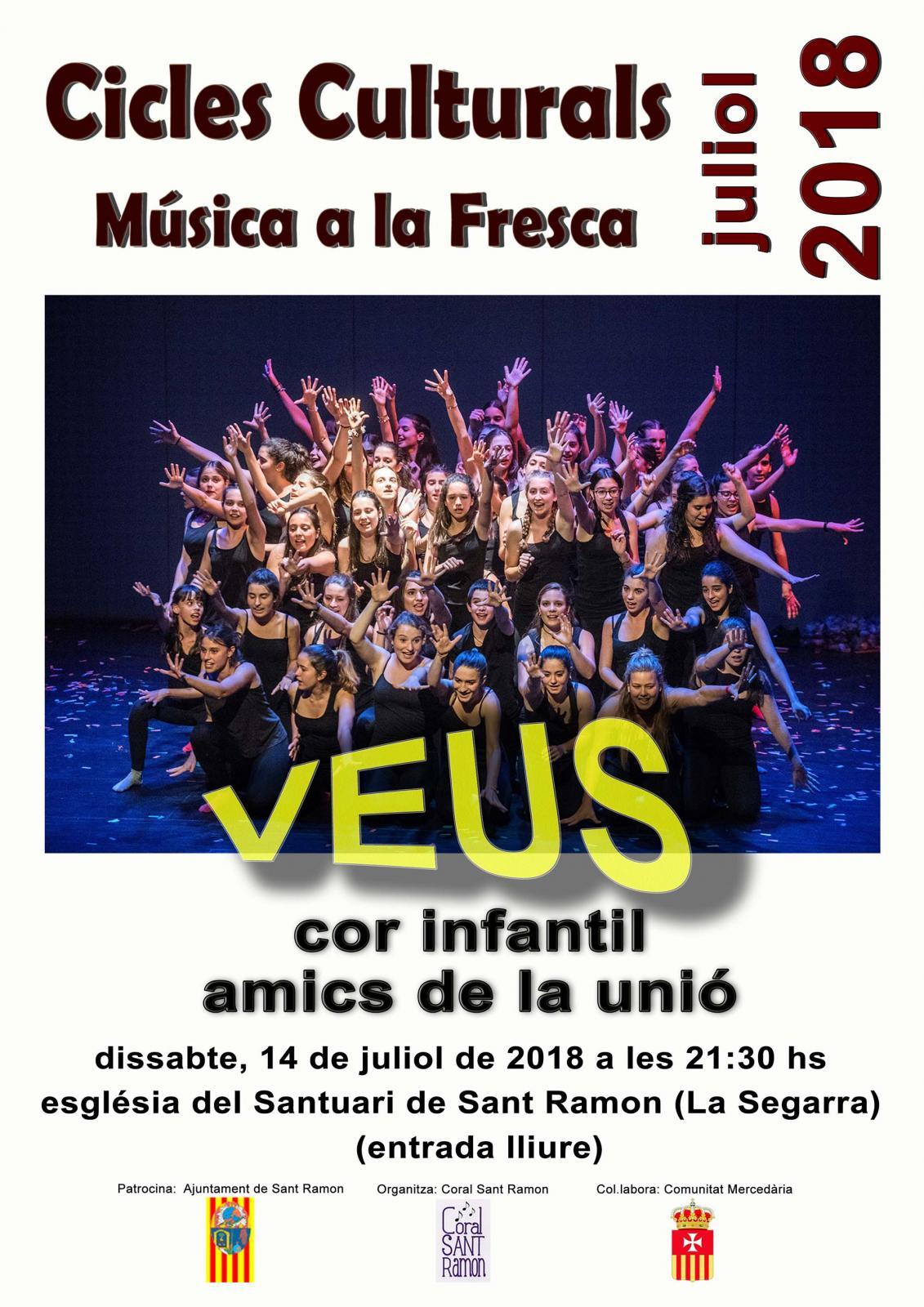 Concert VEUS del Cor Infantil Amics de la Unió