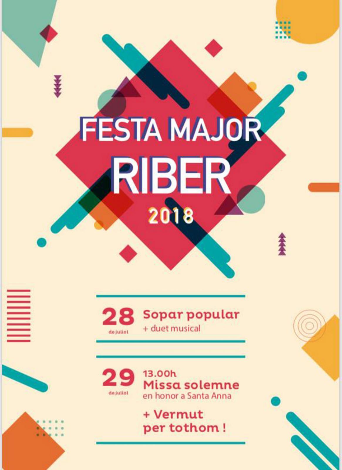 Festa major de Riber 2018