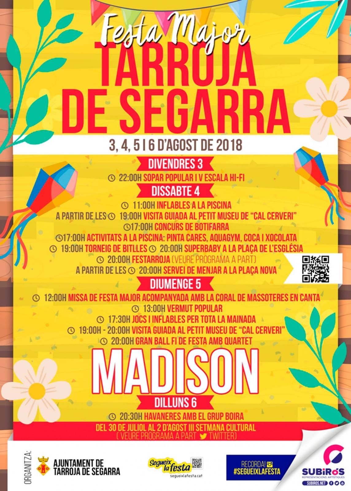Festa major Tarroja 2018