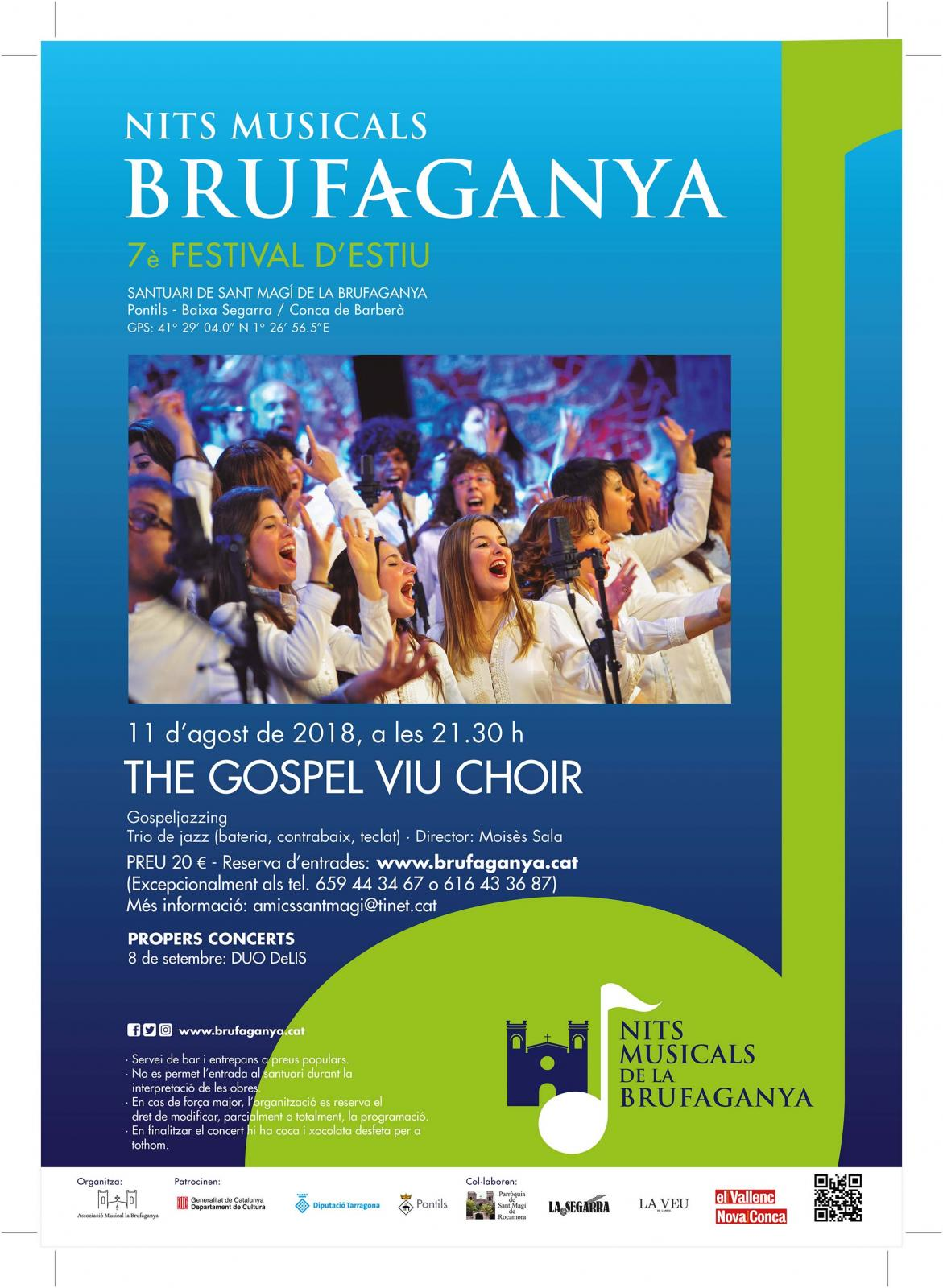 THE GOSPEL VIU CHOIR (Nits Musicals de la Brufaganya)