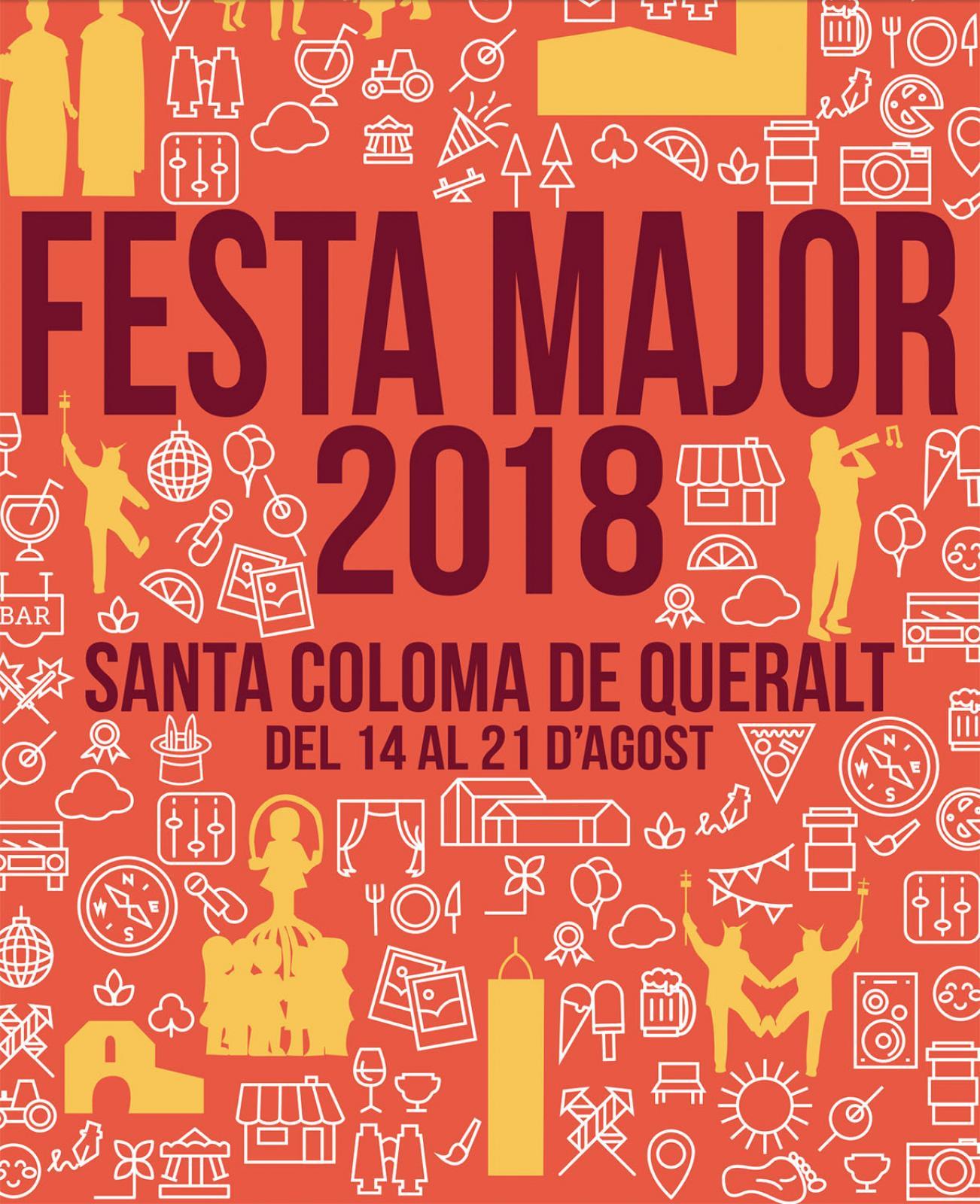 Festa Major de Santa Coloma de Queralt 2018
