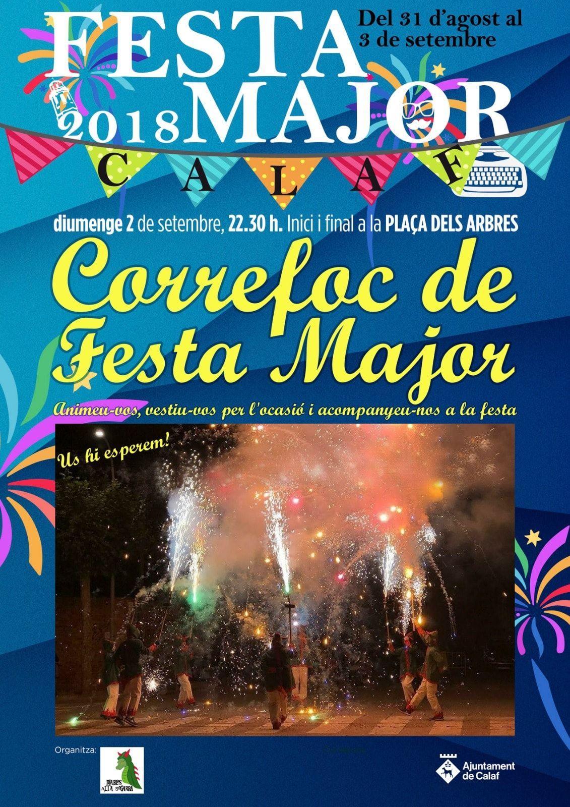 Correfoc de Festa Major de Calaf