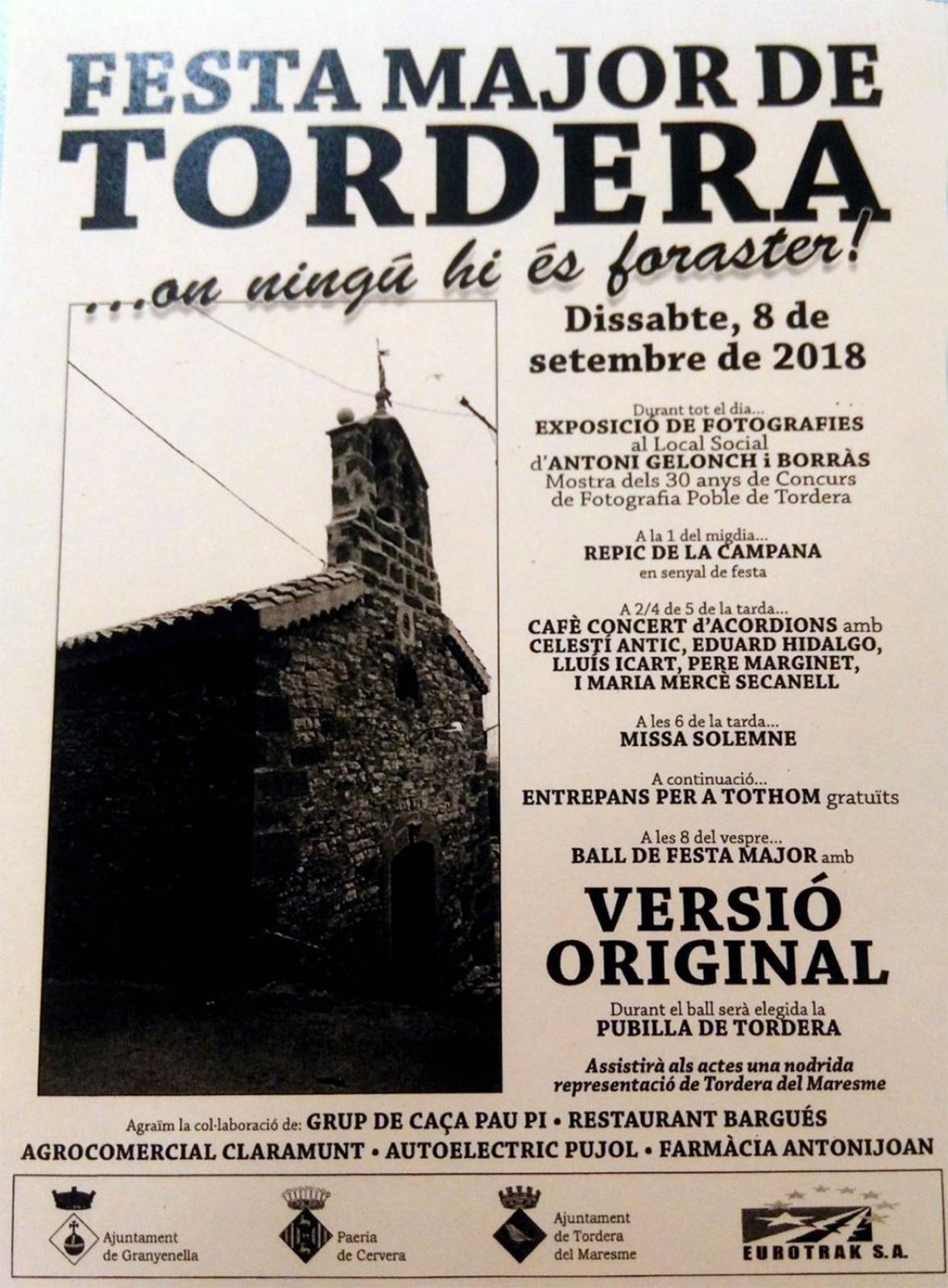 Festa Major de Tordera 2018