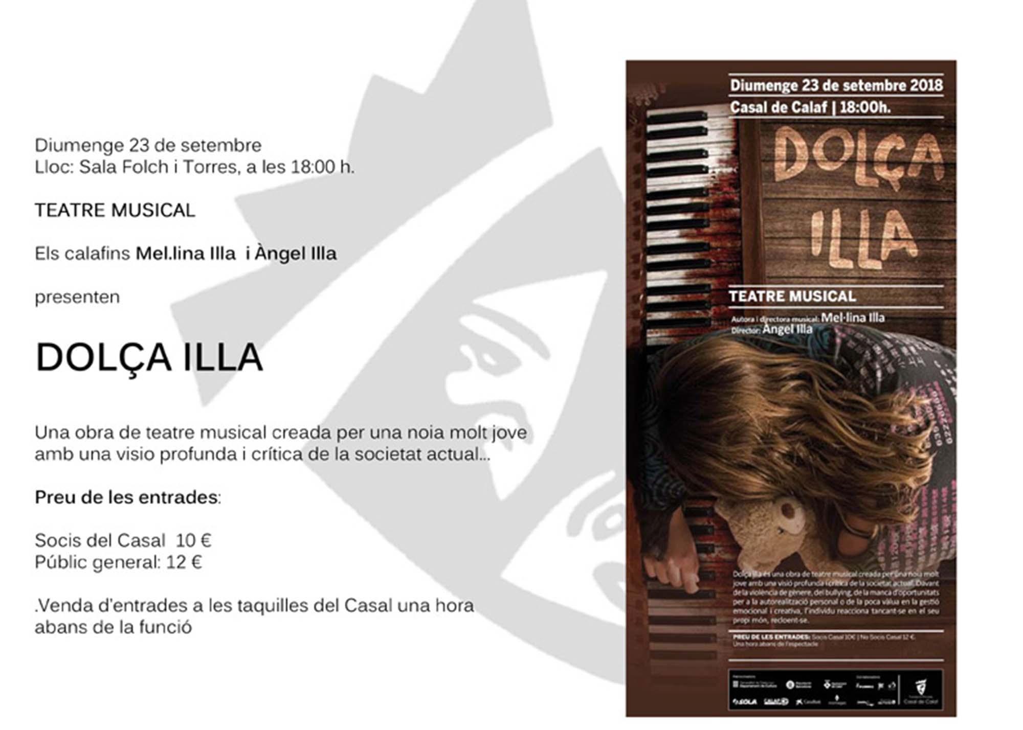 Teatre musical 'Dolça Illa'