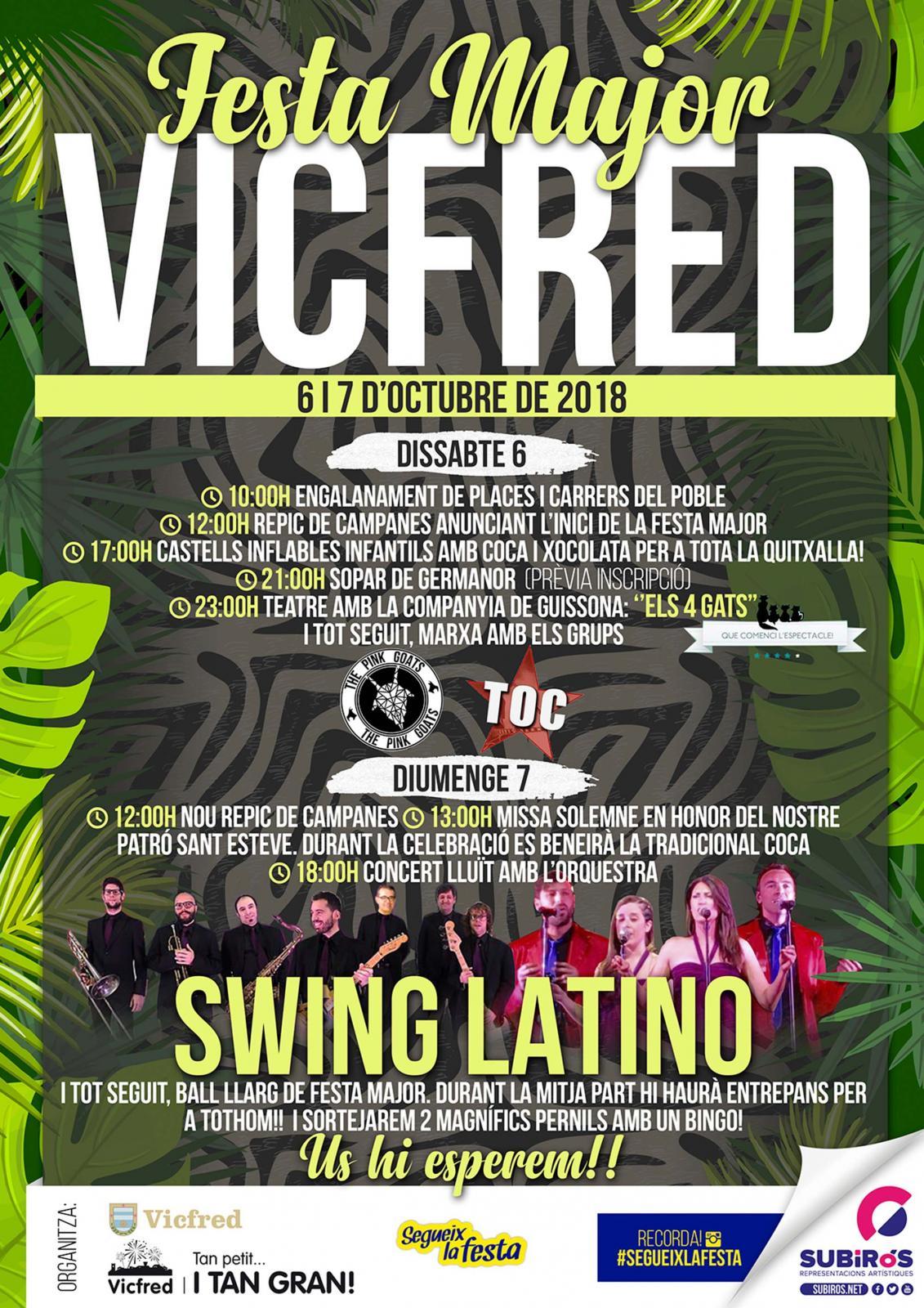 Festa Major de Vicfred 2018