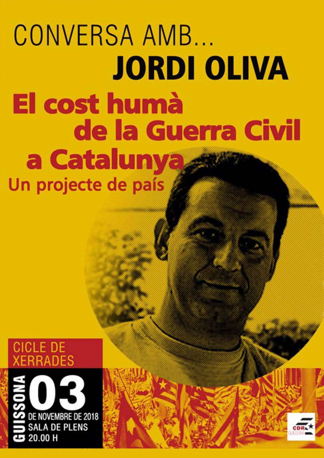 Conversa amb Jordi Oliva 'El cost humà de la Guerra Civil a Catalunya'