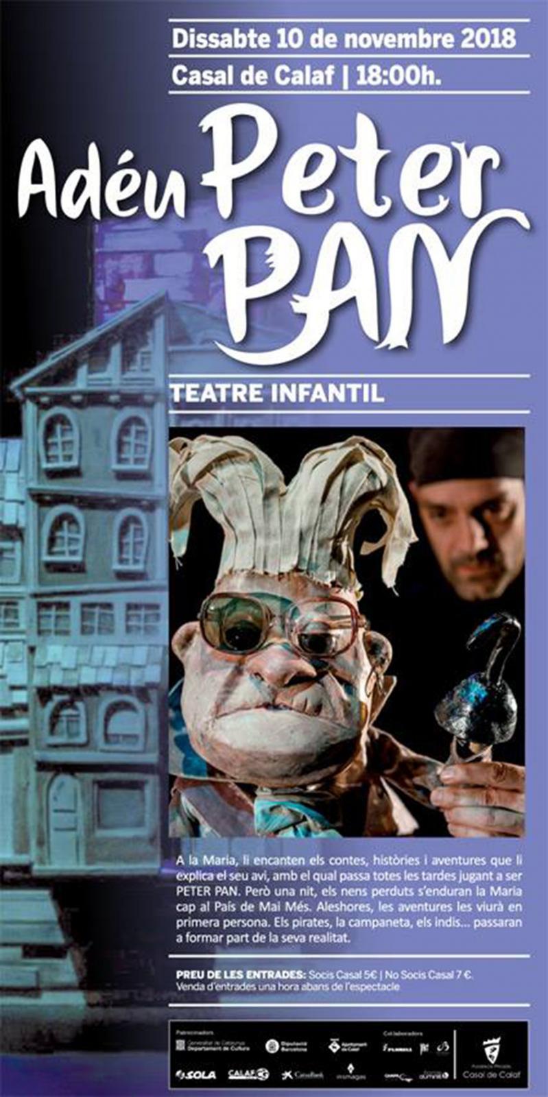 Teatre Infantil 'Adéu, Peter Pan'