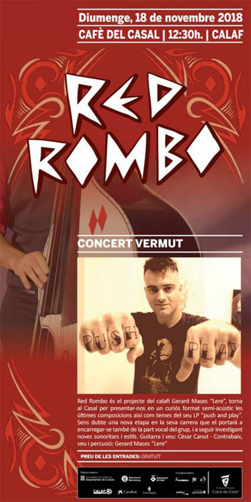 Concert vermut amb Red Rombo