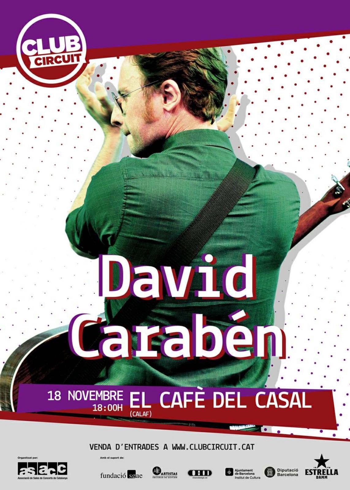 Concert de David Carabén