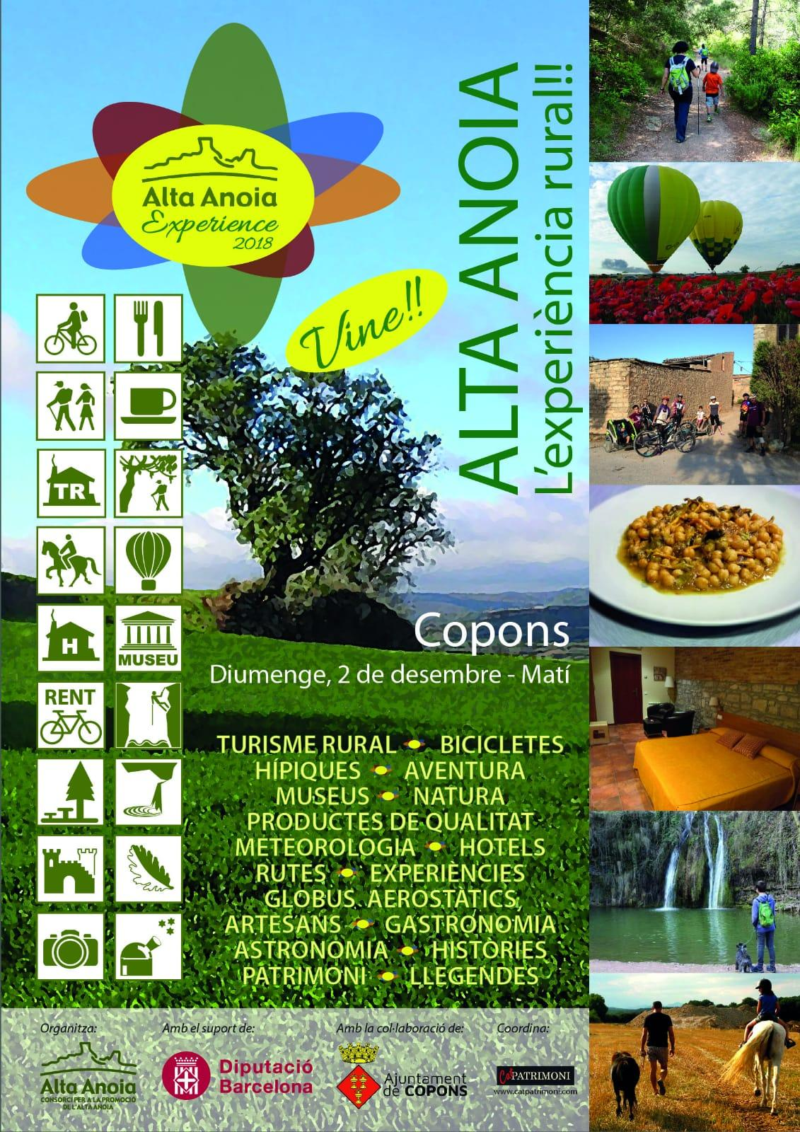 cartell Alta Anoia Experience