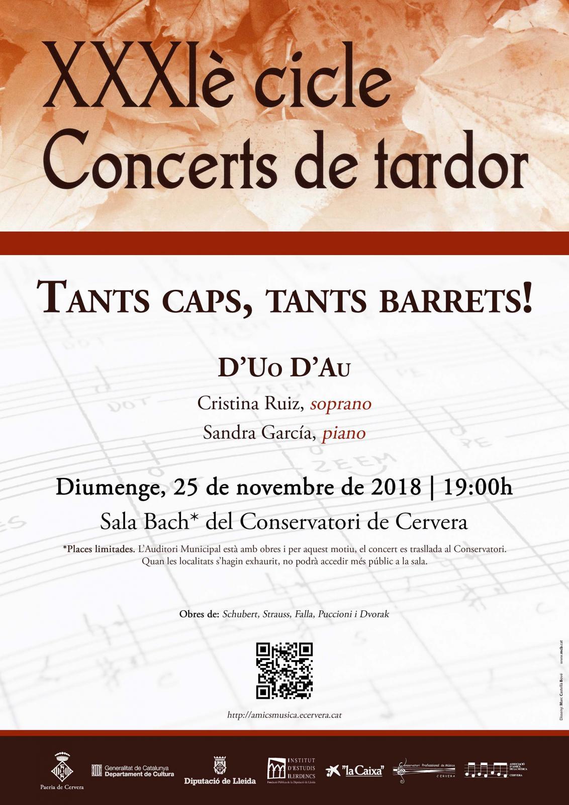 Concert 'Tants caps, tants barrets'