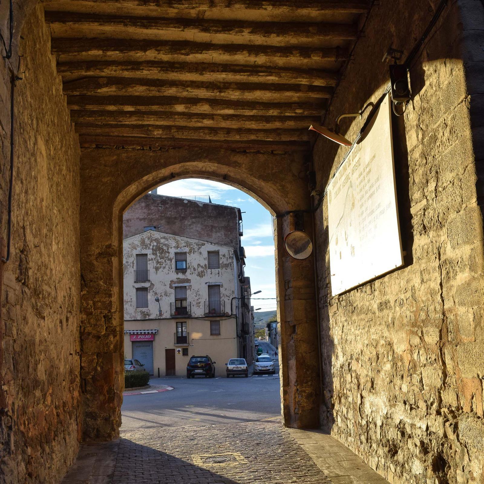 Portal of Santa Coloma