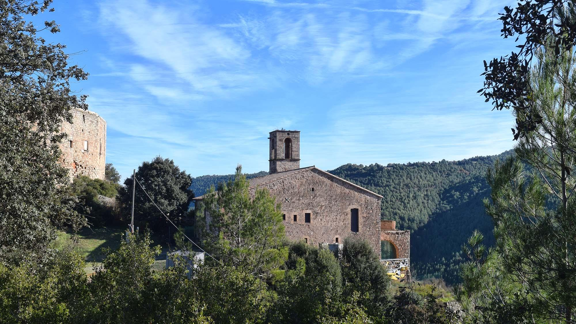 Church Sant Miquel de Castellar