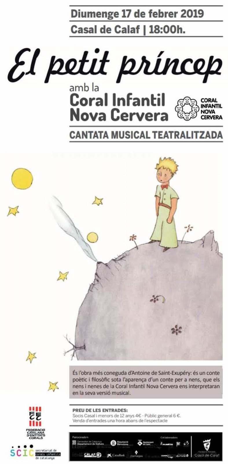 Cantata musical teatralitzada 'El Petit Príncep