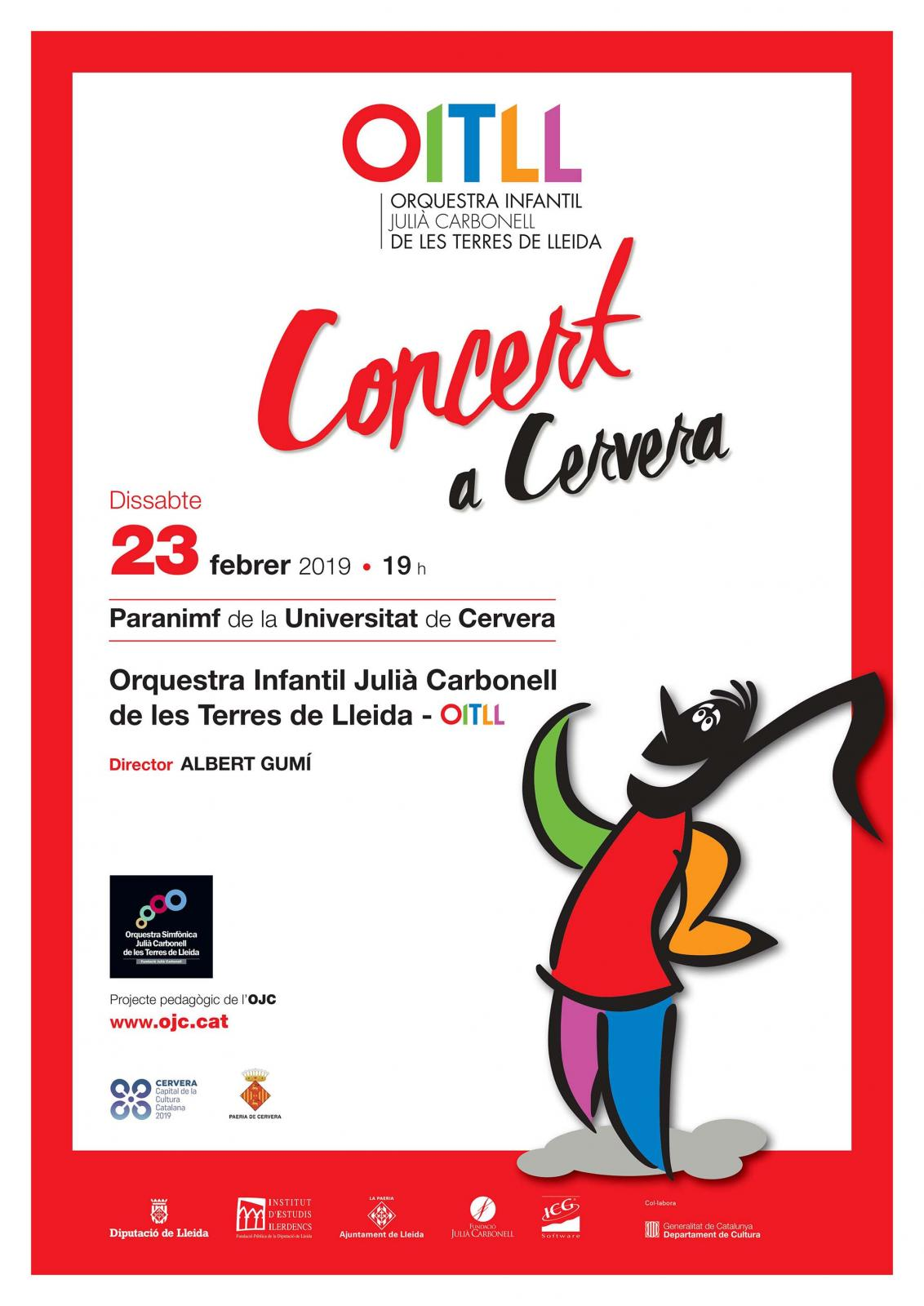 Concert de l'Orquestra infantil de les Terres de Lleida