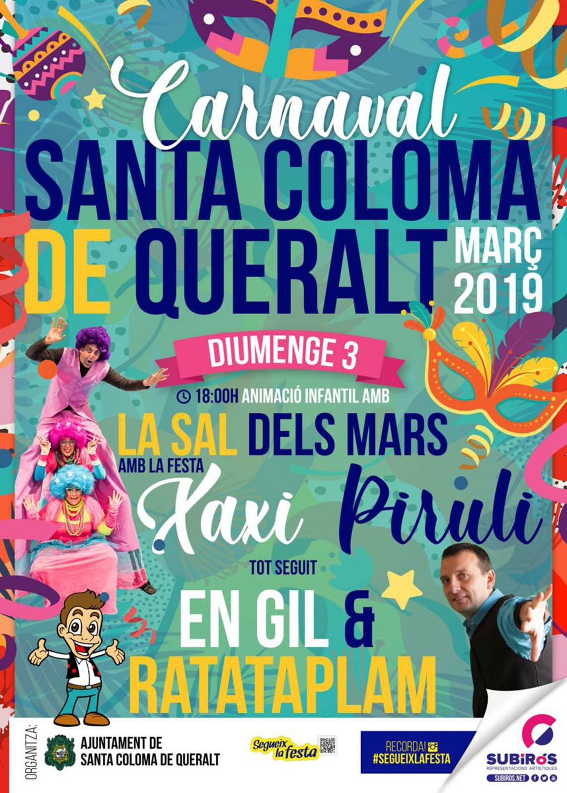 Carnaval 2019 santa coloma de queralt