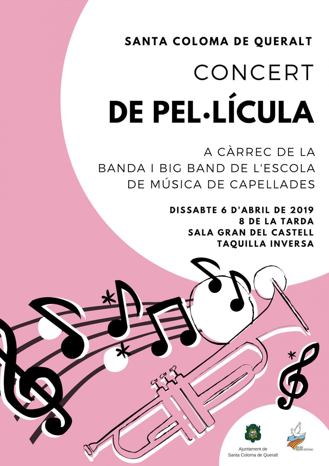 cartell CONCERT DE PEL·LÍCULA