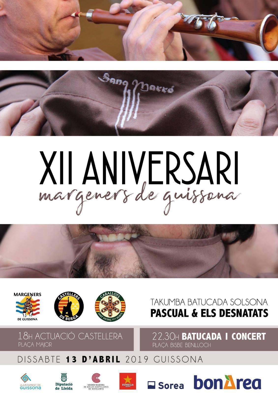 XII Aniversari dels Margeners de Guissona