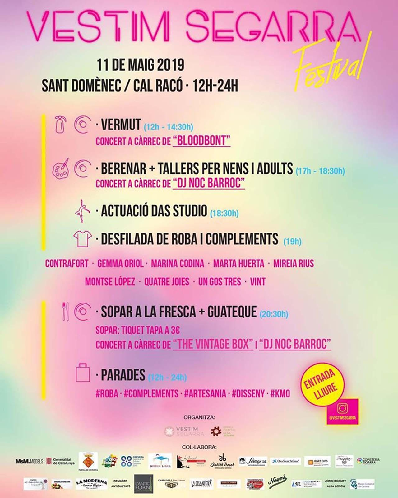 Vestim Segarra festival 2019