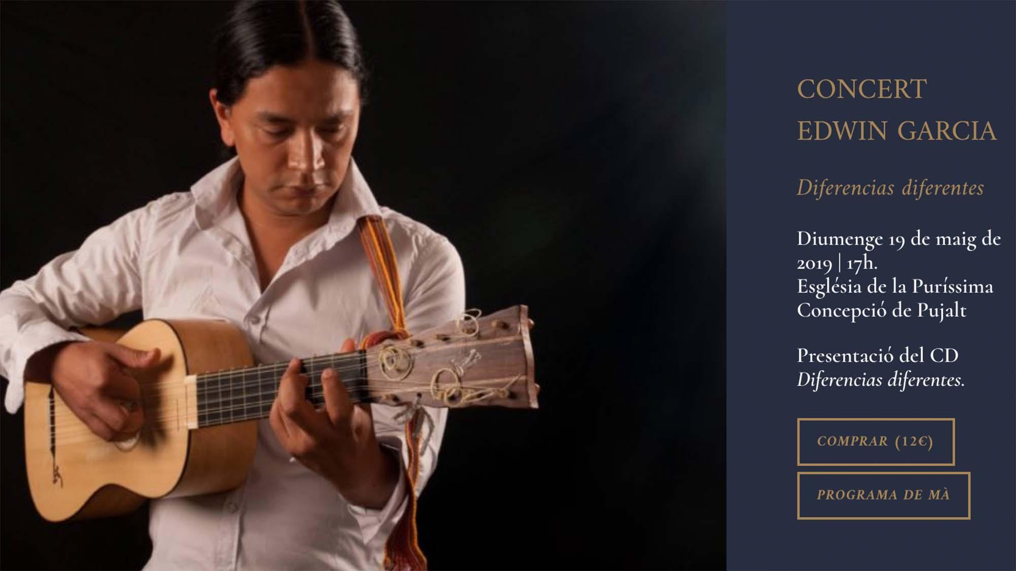 Concert d'Edwin Garcia
