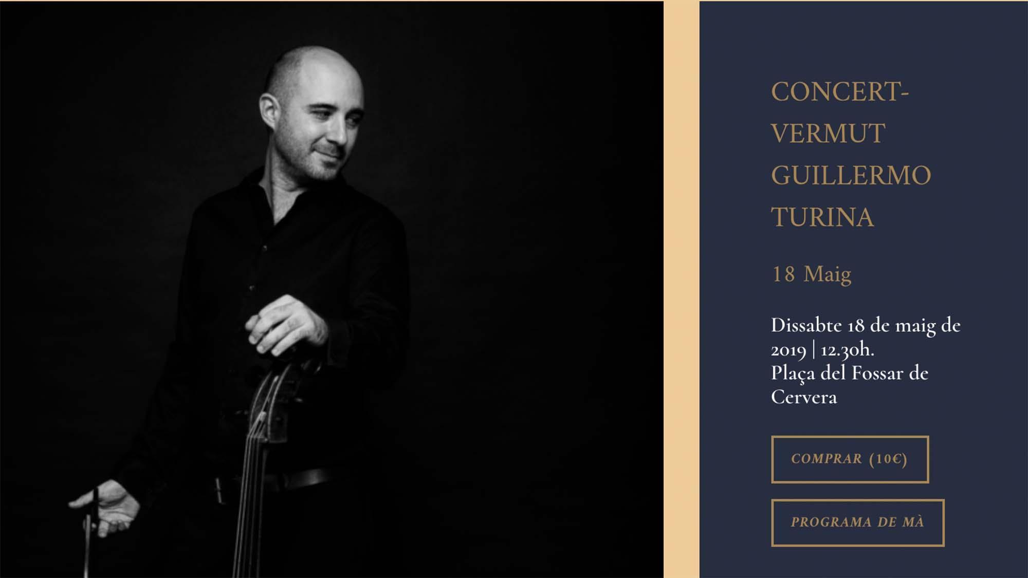 Concert-Vermut Guillermo Turina