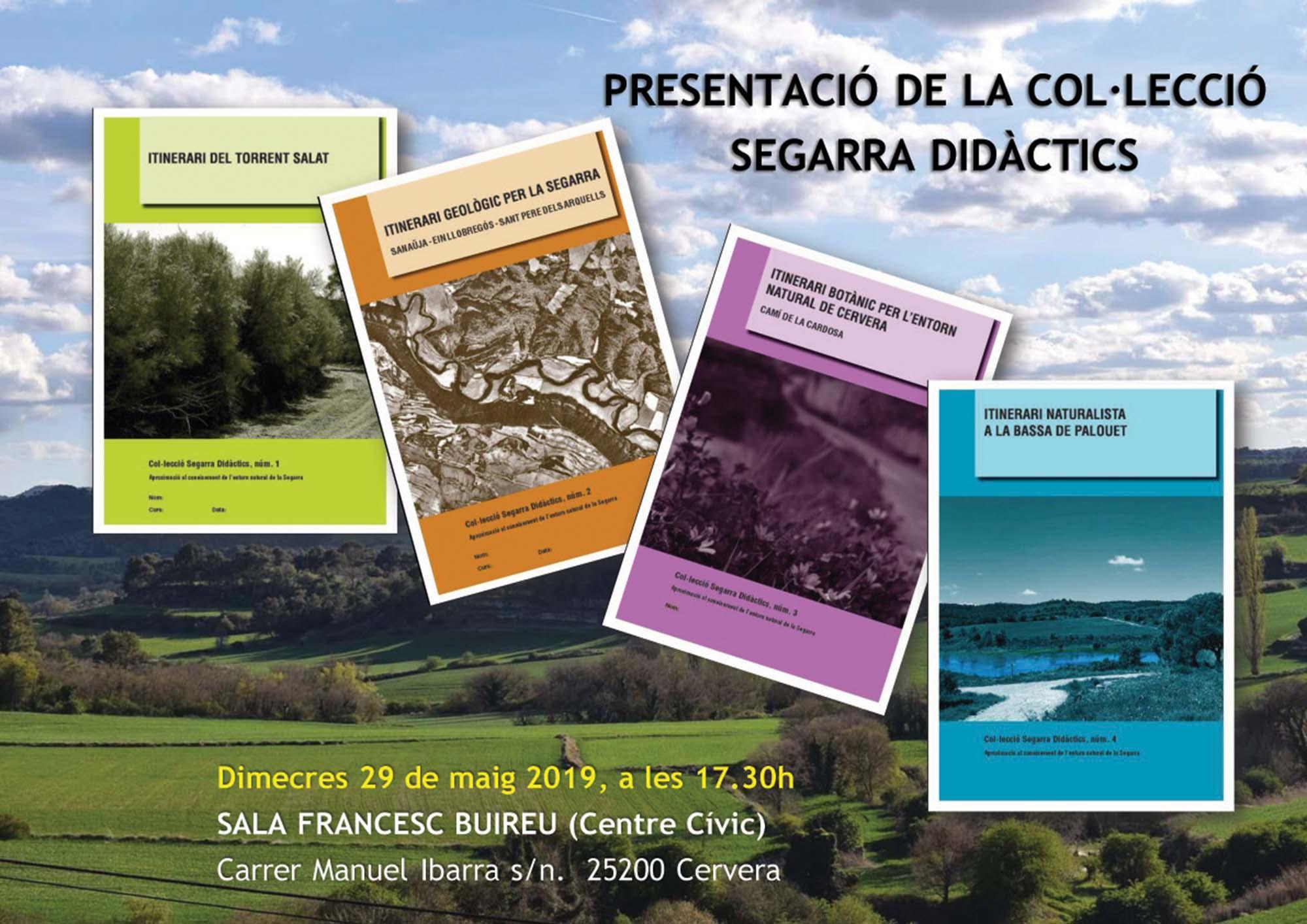 Presentació de la Col·lecció Segarra Didàctics