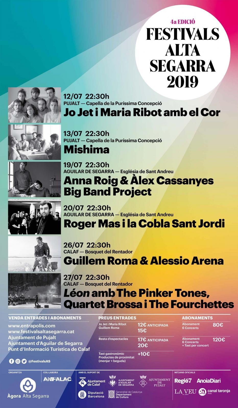 Festivals Alta Segarra 'Roger Mas i Anna Roig'