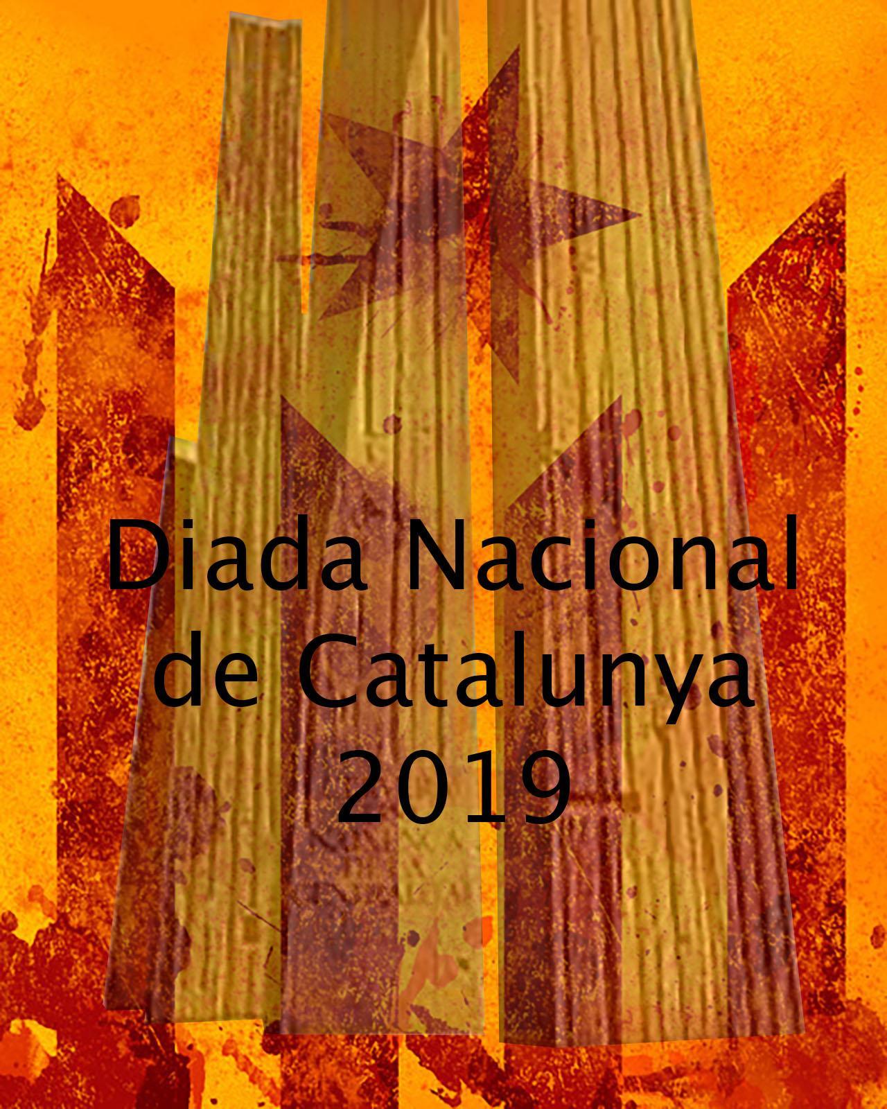 cartell Actes commemoratius Diada Nacional de Catalunya a la Segarra