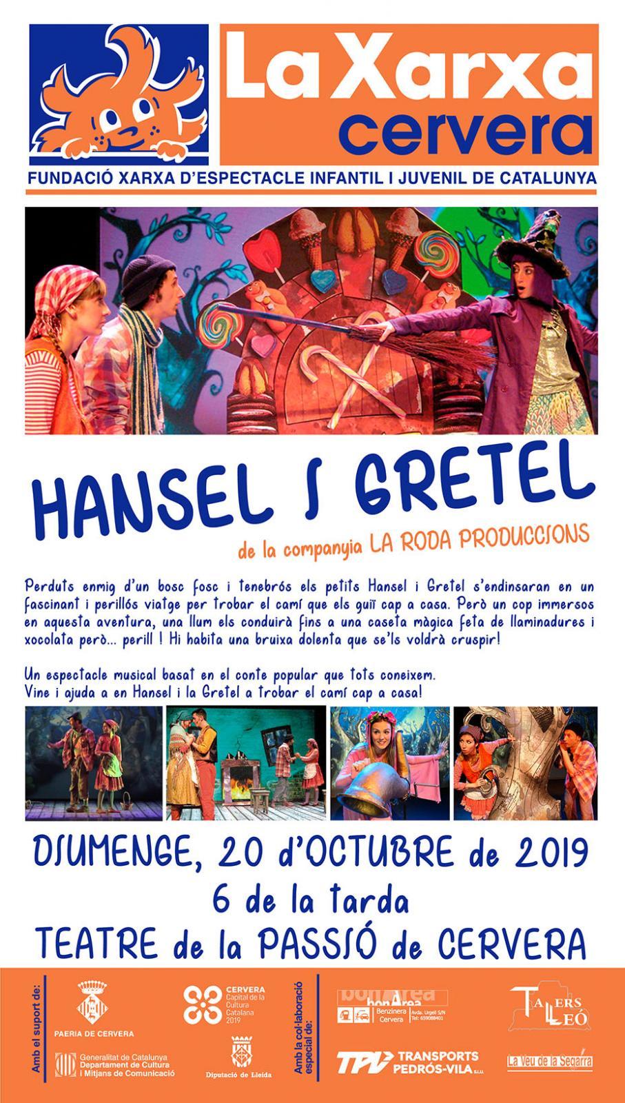 cartell Xarxa 'Hansel i Gretel'