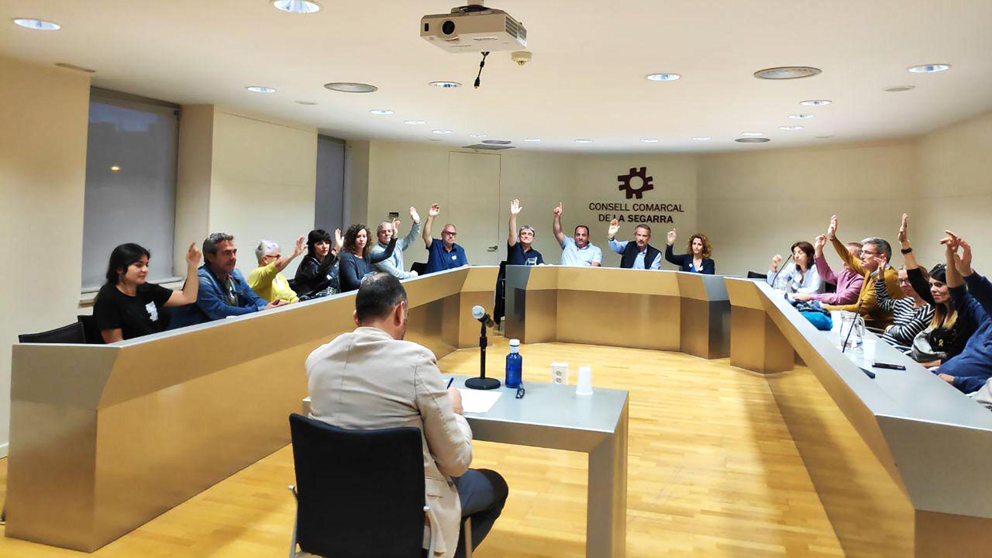 El Consell Comarcal Segarra aprova la moció contra la Sentència del Procés
