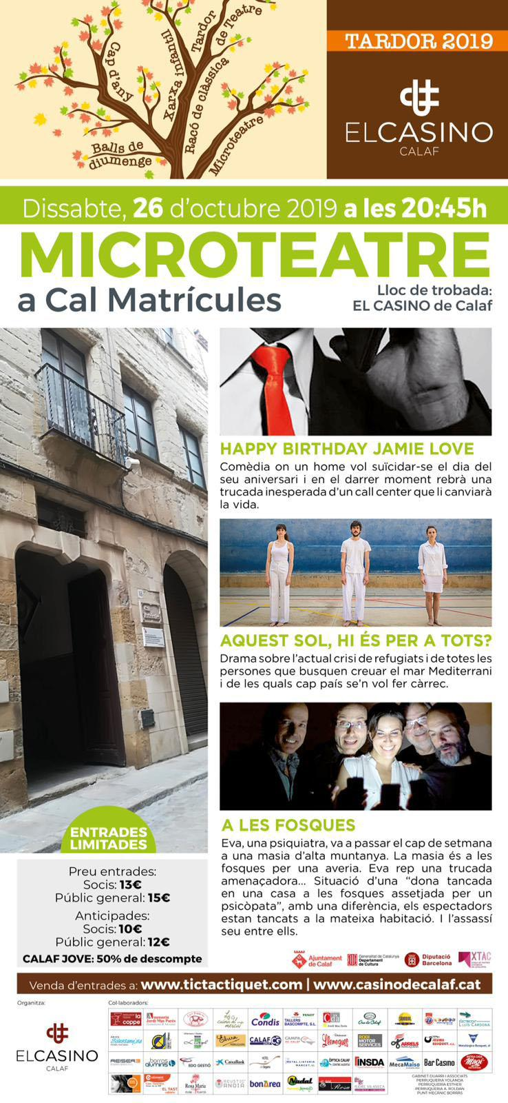 cartell Microteatre