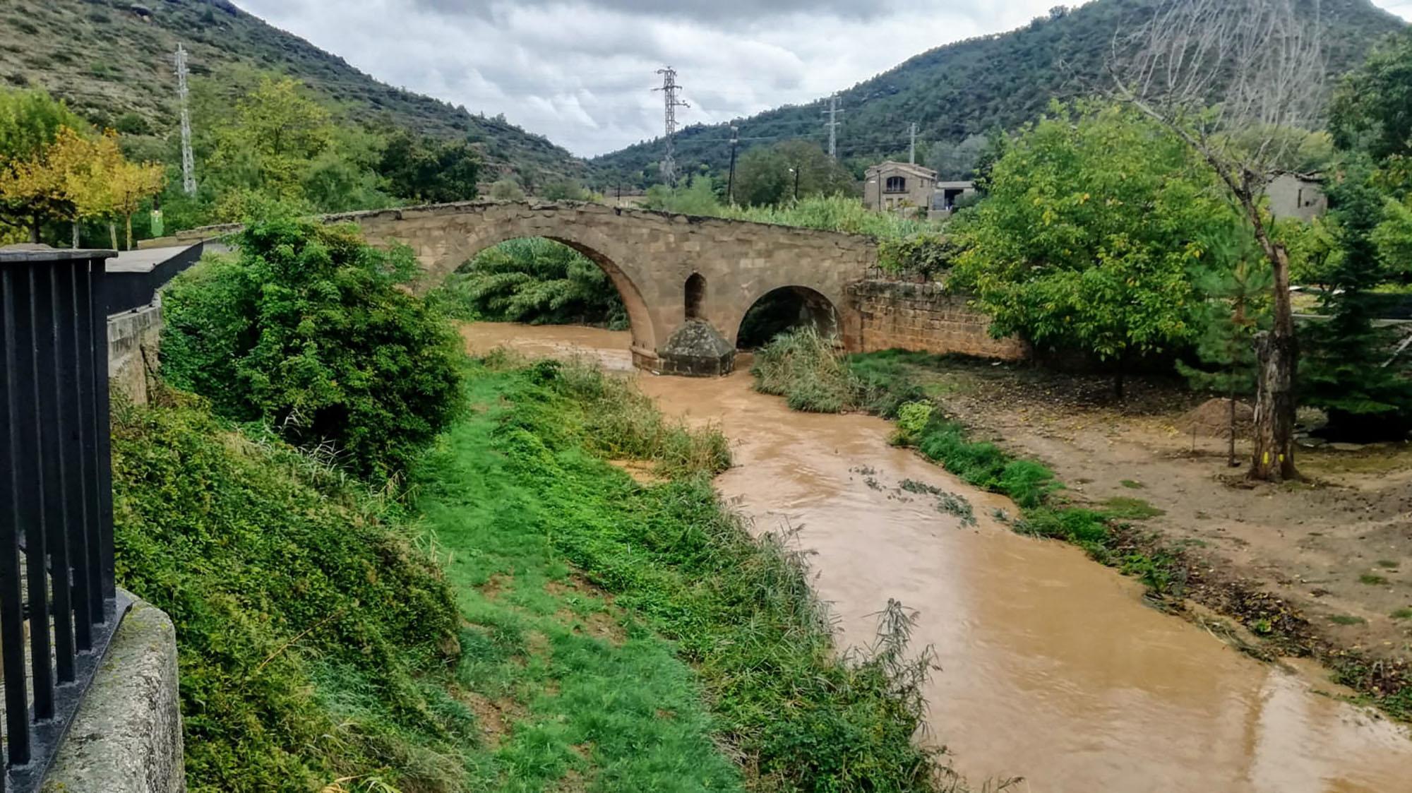 La llevantada deixa pluges generoses a la Segarra
