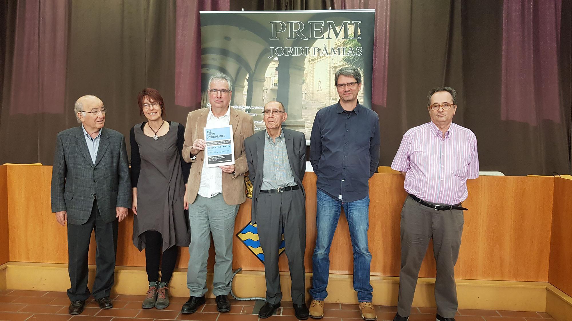 Josep Civit guanya el Premi de Poesia Jordi Pàmias 2019