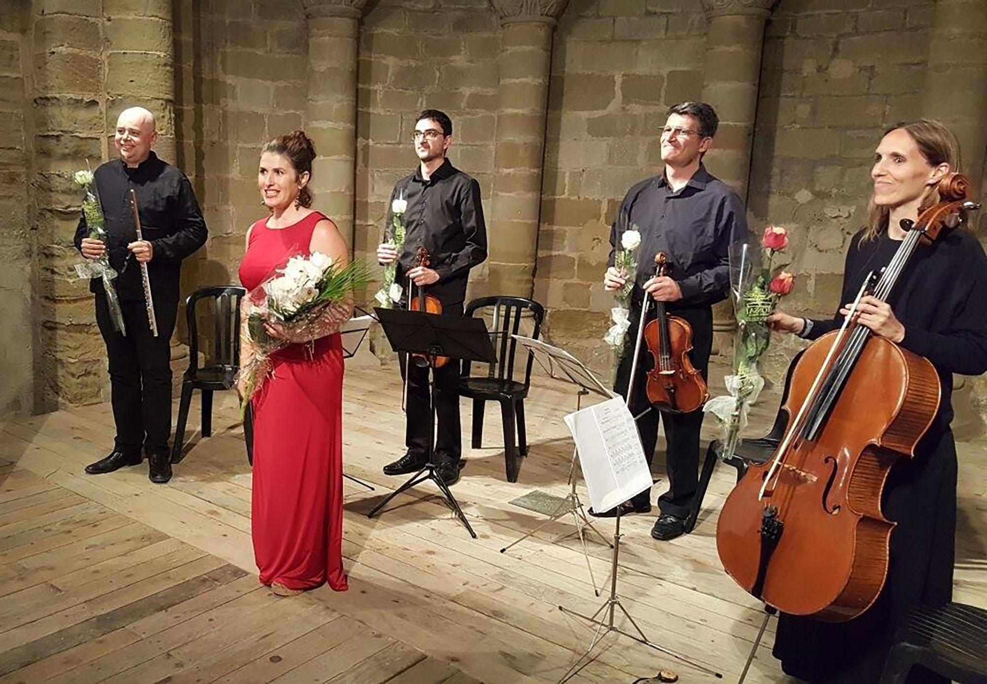 Concert del Quartet Prysma i Iolanda Dolcet
