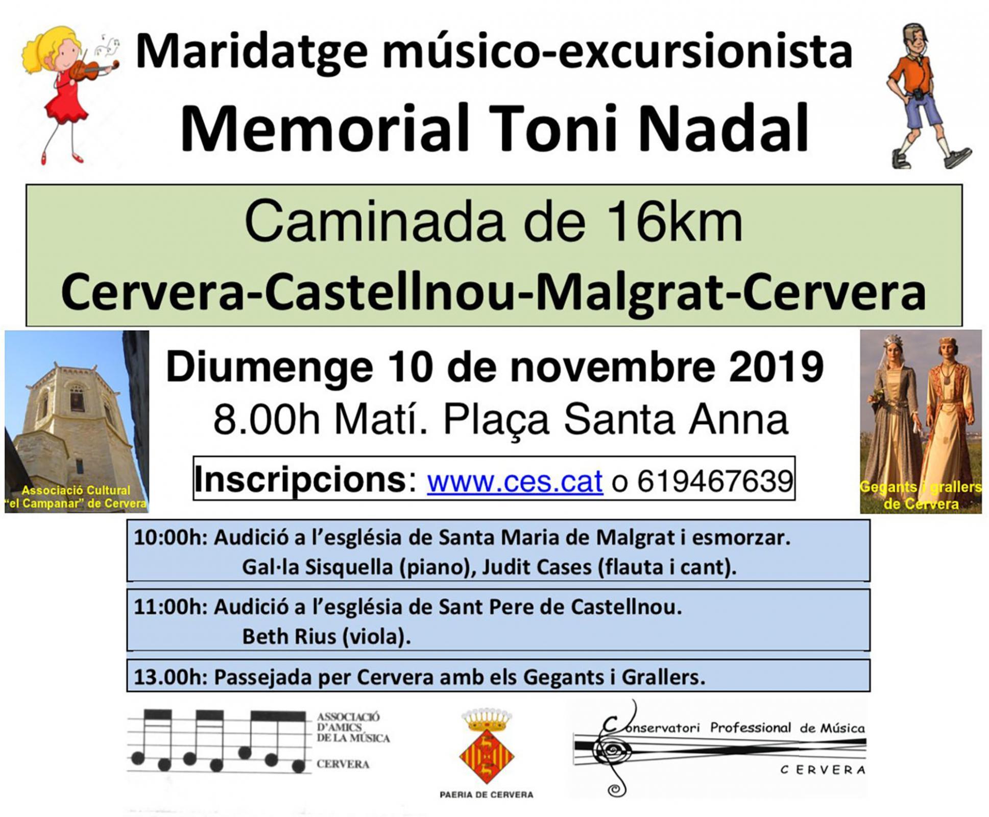 cartell Memorial Toni Nadal