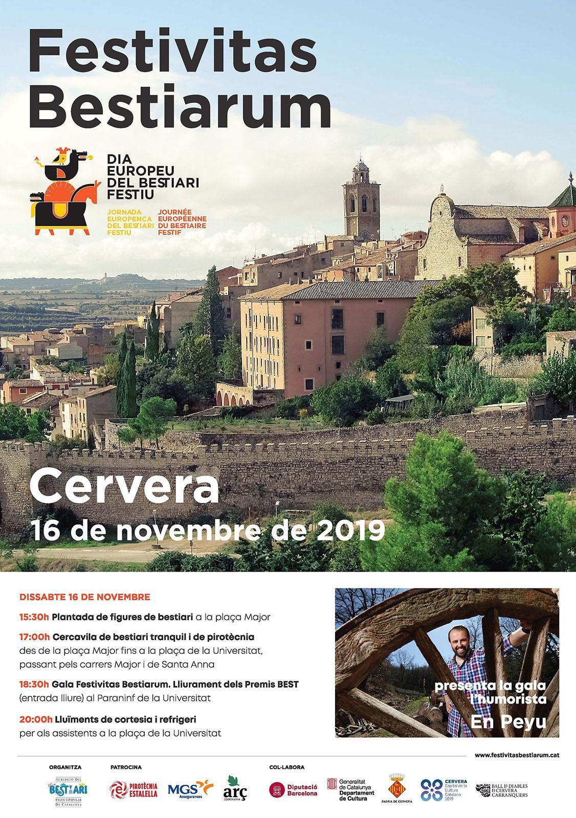 cartell Festivitas Bestiarum 2019