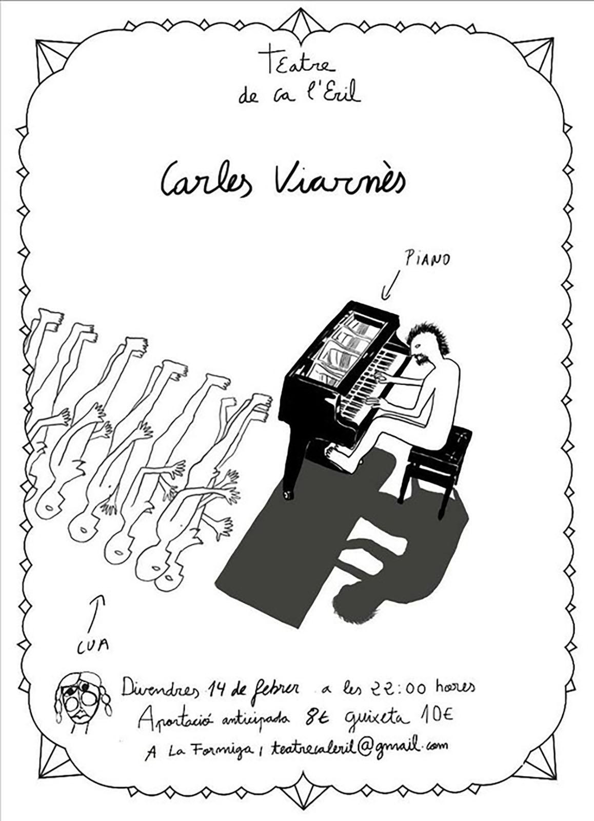 cartell Concert de Carles Viarnès